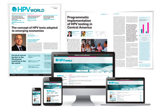 HPV site and subscription page hpvworld.com