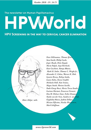 HPV Screening in the way to cervical cancer elimination